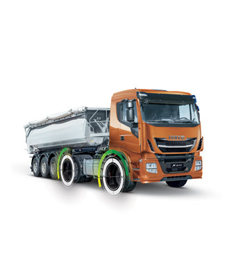 IVECO Stralis X-WAY mit Hi-Traction