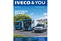 IVECO & YOU Magazin Cover September 2018